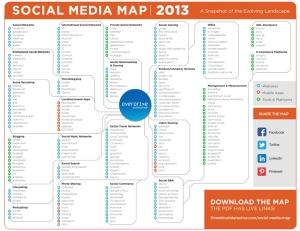 Social-Media-Map 2013